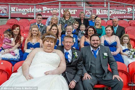 bentley surgery doncaster jackie malton celebrates wedding with just weeks