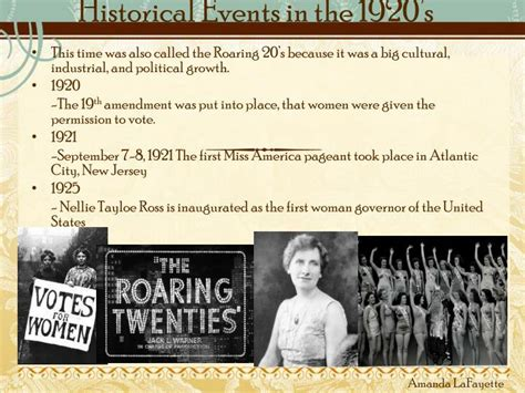major events in the 1920s ppt fashion in the 1920s powerpoint presentation id