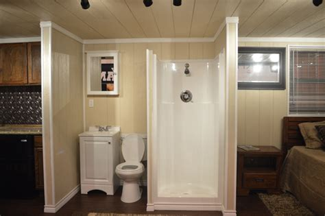 shipping container bathroom houston shipping container bathroom build a box homes