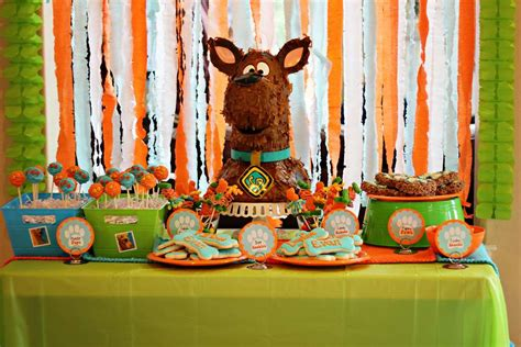 scooby doo birthday party ideas photo    catch  party