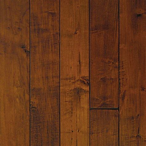 millstead hand scraped maple spice 3 4 in thick x 5 in wide x random length solid hardwood