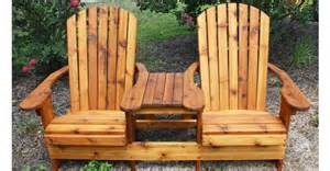 Loveseat And Chair Combo Custom Built Adirondack Furniture By Chw Outdoors Lexington Sc