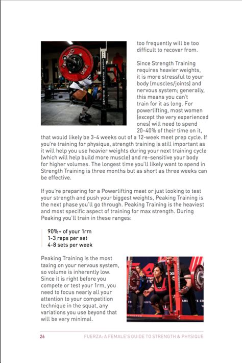 fuerza a s guide to strength physique books fuerza a s guide to strength physique