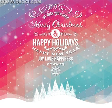 new year card design 2014 vector merry and happy new year 2014 greeting
