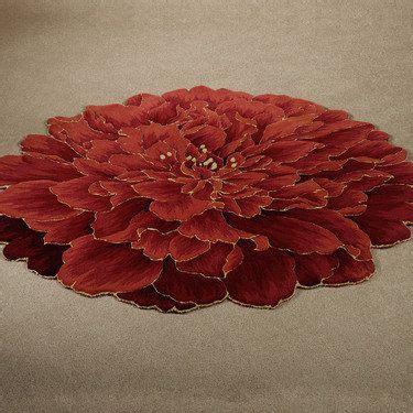 rugs shaped like flowers neena bloom flower shaped rugs decor ideas