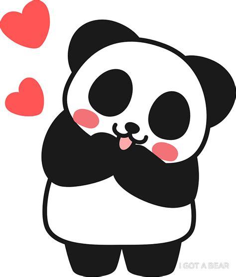 Cute Wall Stickers quot panda cute cute sticker quot stickers by i got a bear redbubble