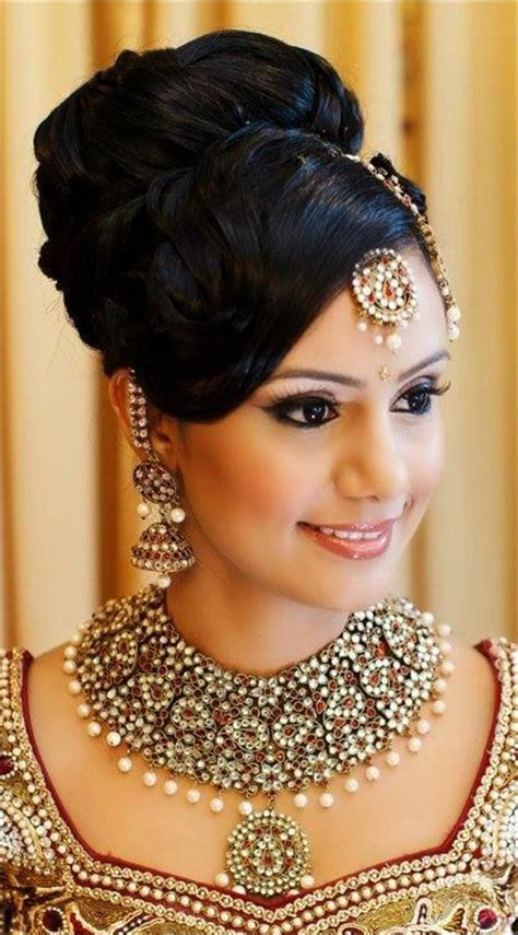 Bridal Bun Hairstyles by Hindu Bridal Hairstyles 14 Safe Hairdos For The Modern