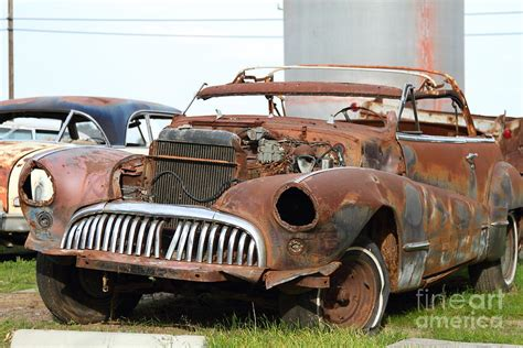 rusty car rusty old american car 7d10348 photograph by wingsdomain