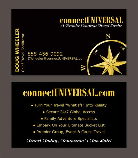 concierge business cards template concierge business cards choice image business card template
