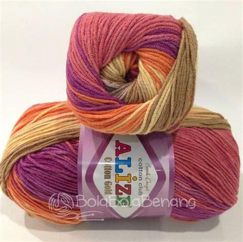 Benang Rajut Yarn Cotton Crochet Sembur Biru 17 best images about alize cotton gold benang rajut import on powder acrylics and