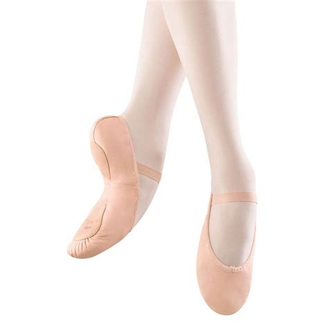 child ballet slippers bloch child dansoft split sole ballet shoes blcs0258g