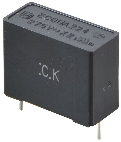 x2 series capacitor pan x2 220n noise capacitor x2 275vac 10 0 22 194 181 f at reichelt elektronik