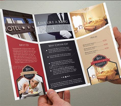 free templates for hotel brochures 32 best graphic design ticklers images on pinterest