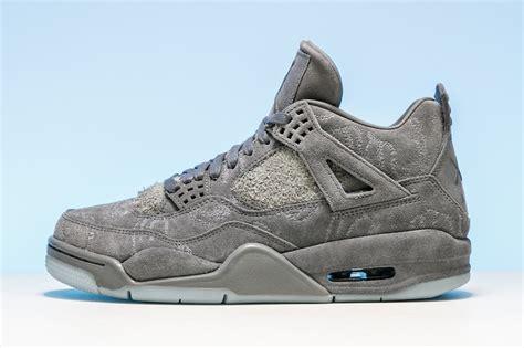 Handmade Shoes Murah No Article003 air 4 retro kaws grey white 930155 003 sneaker bar detroit