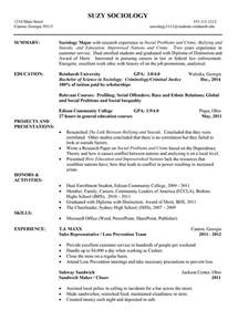 sle of chronological resume resume exle career services reinhardt college