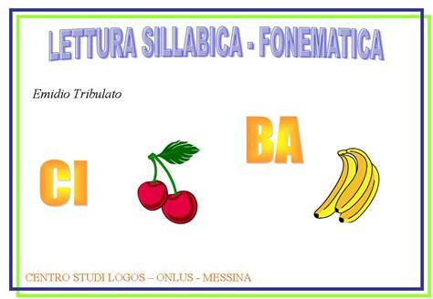 parole di quattro lettere lettura sillabica e fonematica