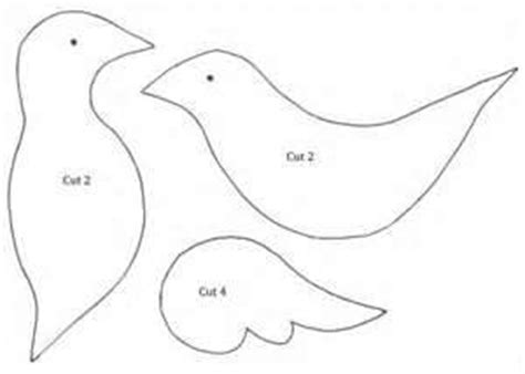 Turtle Dove Template by Dove Template Made Crafts