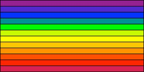 how many colors of the rainbow rainbow flag