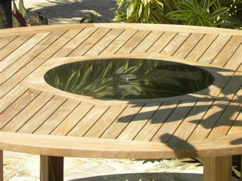 round garden bench table round teak and granite garden table bermuda