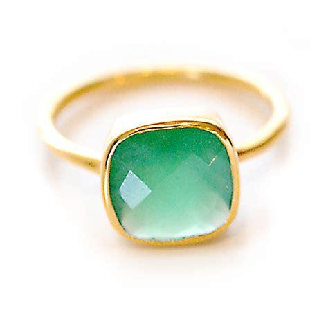 Gemstone Rings by Green Onyx Gemstone Ring