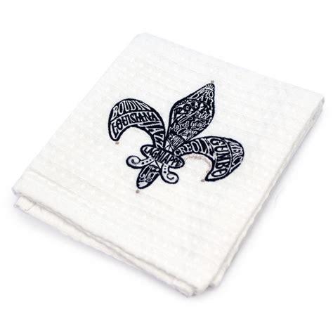 kitchen towel fleur de lis kto003 mardigrasoutlet com