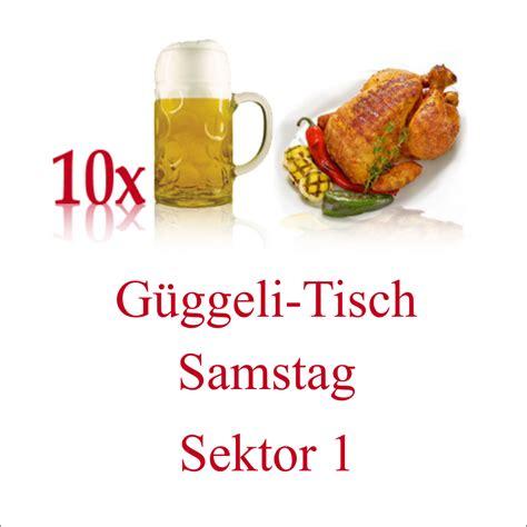 tisch oktoberfest 2019 10er g 252 ggeli tisch sektor 1 samstag aargauer