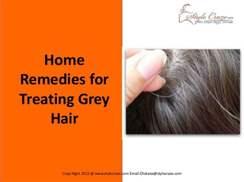 home remedies for gray hair