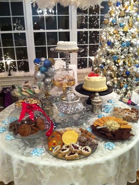 decorative christmas dessert recipes 73 best images about table on dessert tables