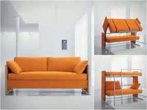 Sofa That Turns Into A Bunk Bed Convertible Orange Sofa Bunk Bed Stroovi