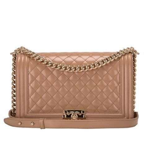 New Arrival Chanel Classic 8370ll Bahan Calfskin chanel beige iridescent calfskin new medium boy bag world s best