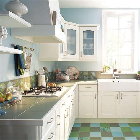 cuisine à l américaine castorama cuisine avec plan de travail photo 5 10 l