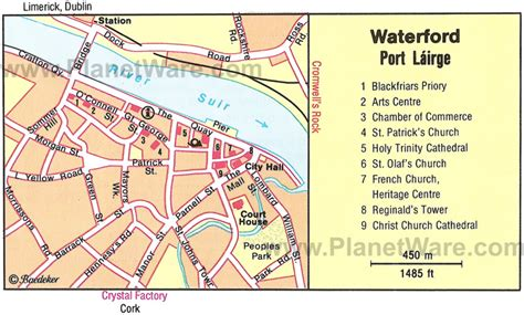 map of waterford city waterford map and waterford satellite image