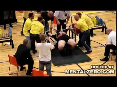 bench press accident bench press chion otto selin snaps his arm bench press