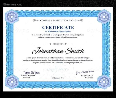 certificate of certification template certificate template sle templates
