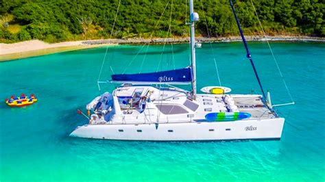 catamaran vacation bvi catamaran bliss bvi yacht charter vacation in the virgin