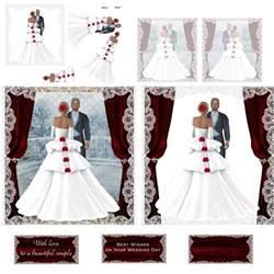 free wedding sles wedding decoupage 3 x a4 decoupage sheets jan 2015 jemini s craft s ebay