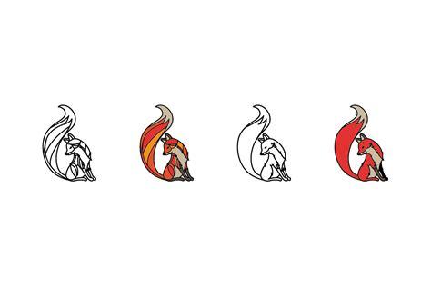 T Shirt Fox Logo Wisata Fashion Shop vector fox illustrations on creative market