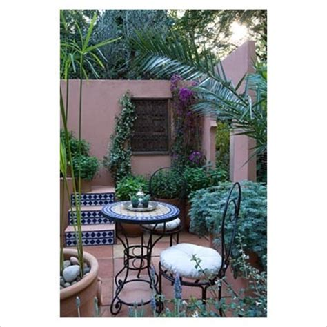 mediterranian courtyard gardens courtyards and verandas pinterest just tile the risers on the steps garden pinterest
