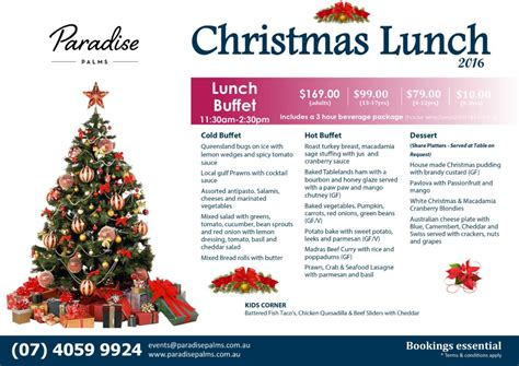 paradise inn new year menu new year 2016 lunch dinner options from