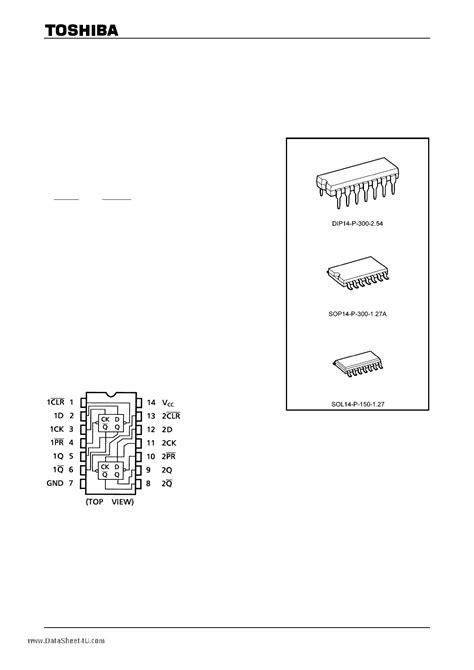 toshiba cmos digital integrated circuit silicon monolithic 74hc74ap datasheet 74hc74ap pdf cmos digital integrated circuit silicon monolithic dual d type