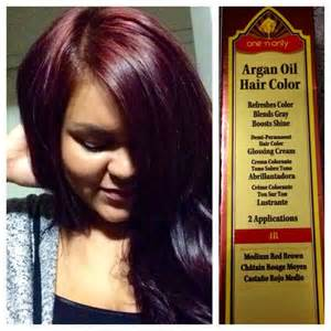 how to mix argan hair color with developer yay for fall hair color one n only argan hair