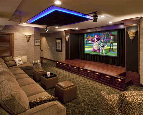 media room performance theater contemporary home theater