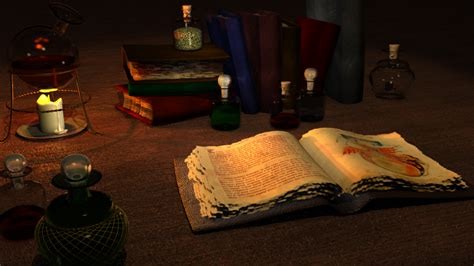 The Table The Table Of The Alchemist By Maxdaten On Deviantart