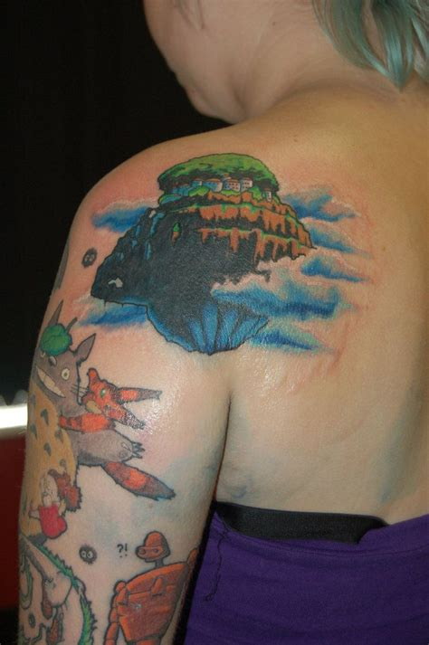 float on tattoo 17 best images about miyazaki tattoos on magic