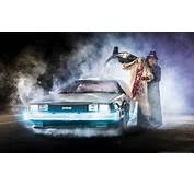 DeLorean Time Machine Replica Captured In Photographic Glory