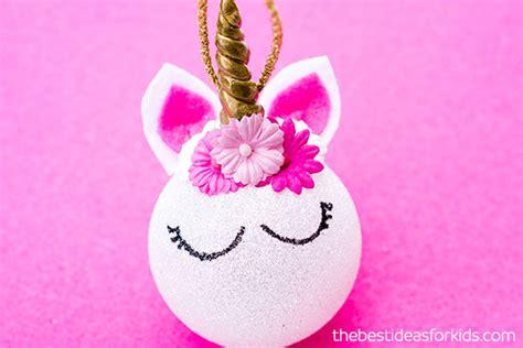 unicorn ornaments easy diy tutorial   ideas