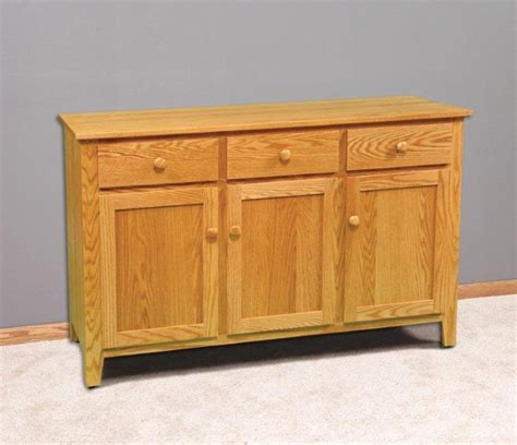 shaker side board server amish dining room furniture 2199
