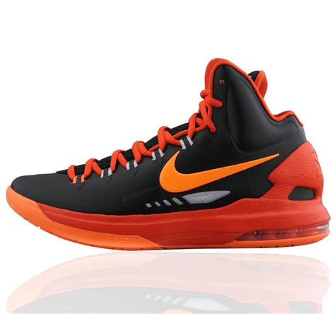 kevin durant basketball shoes nike kd v kd5 black orange kevin durant basketball shoes