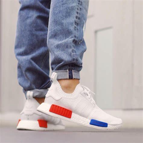 adidas nmd runner pk white red blue sneaker bar detroit