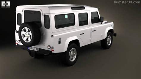 Land Rover Kaos 3d Umakuka land rover defender 110 station wagon 2011 by 3d model